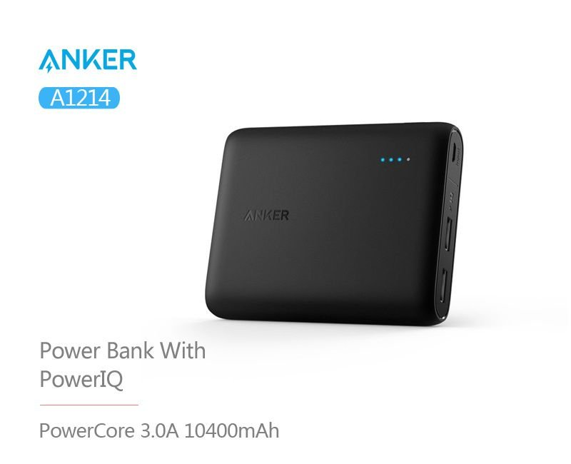 Anker Powercore 10400 Portable Charger Power Bank