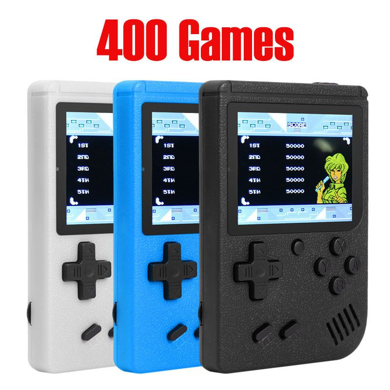 Retro Portable Mini Handheld Sup Game Console 8-Bit Color LCD Kids Color Game Built-in 400 Games Player Sup Game Console