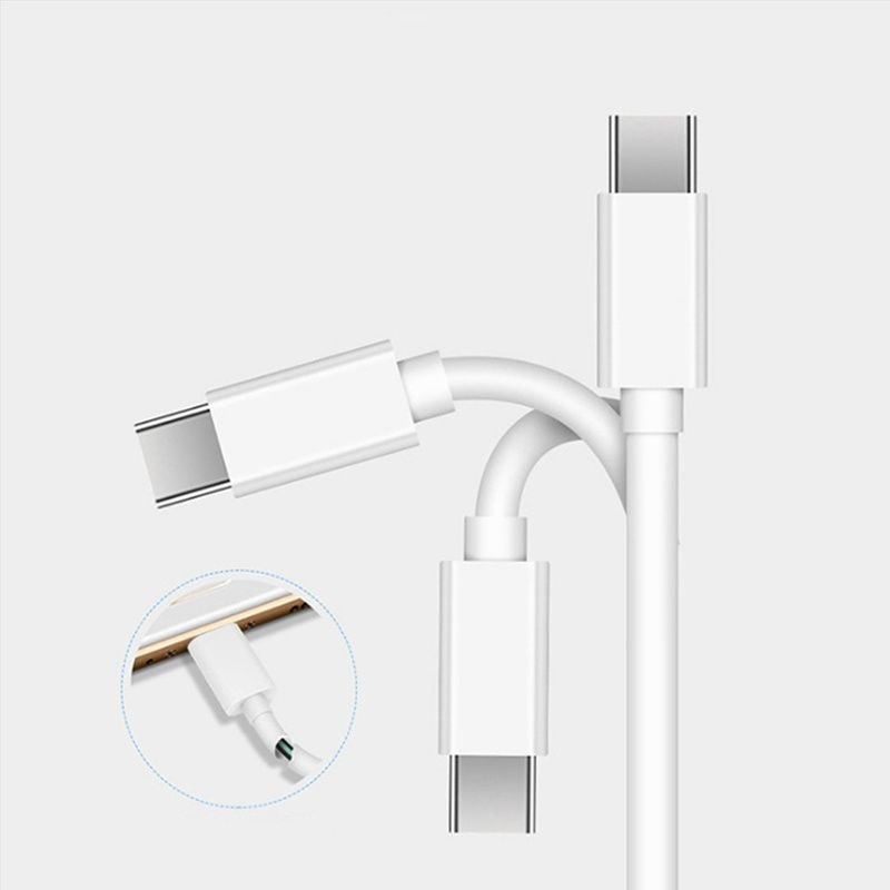 Type C Cable 1m Date Cable C to C Cable 5A Type C Cable Laptop Cable